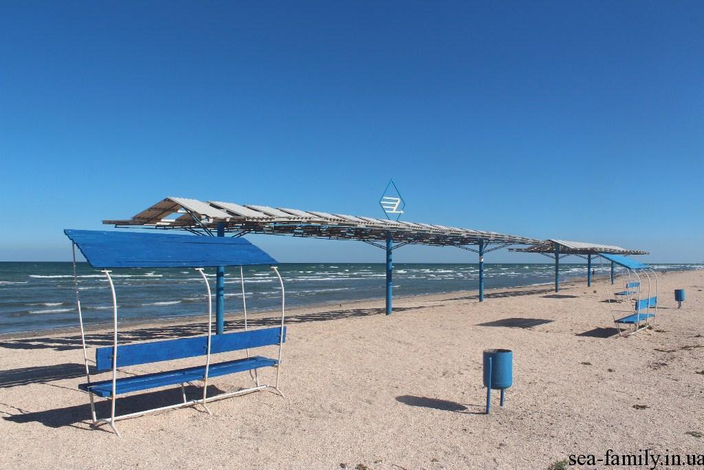 Геническая горка фото пляжа