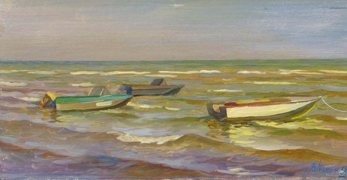 Геническ. Лодки (1999 год)