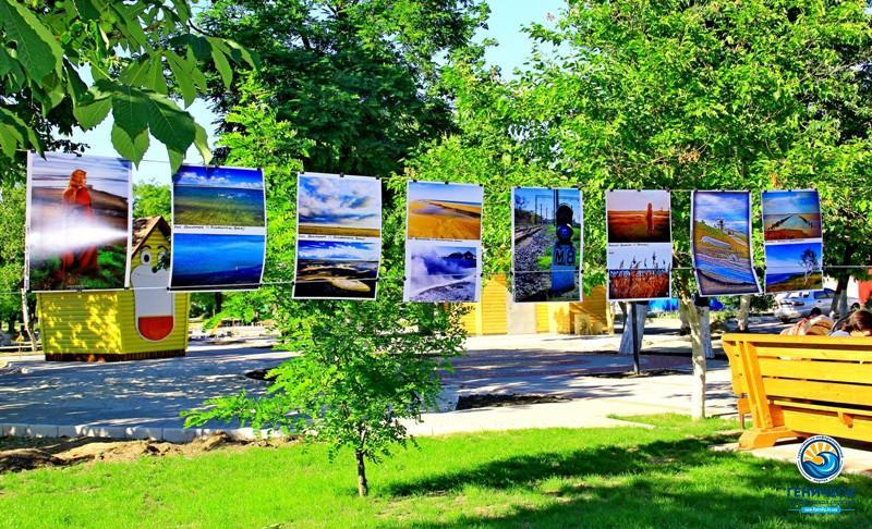 Уличная фотовыставка Геническ