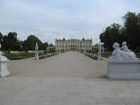 12. Дворец Браницких в Белостоке