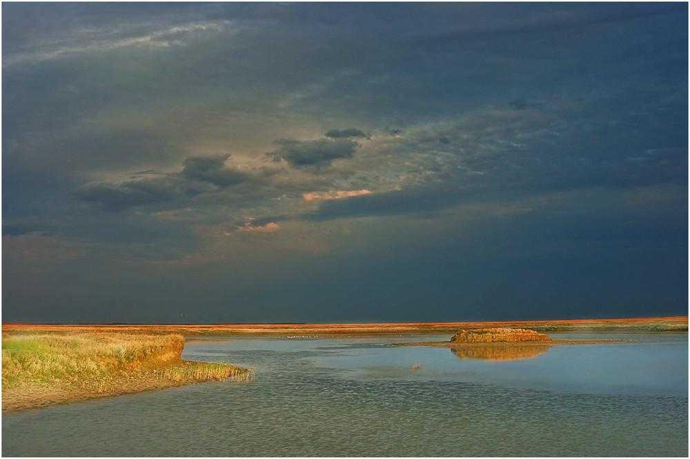 соленое озеро Украины