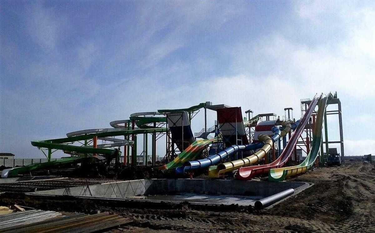 строительство аквапарка в Генгорке
