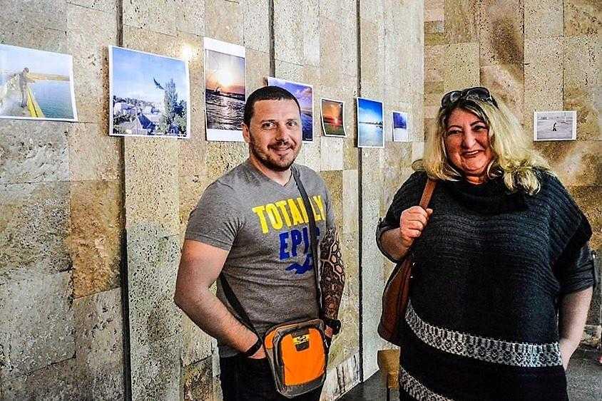 Геническ и Арабатска стрелка в объективе смартфона! Состоялась фотовыставка Алексея Короткова #photoTavrika