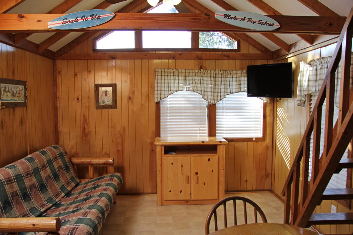 Cottage With Bedroom Amp Loft Sea Pirate Campground