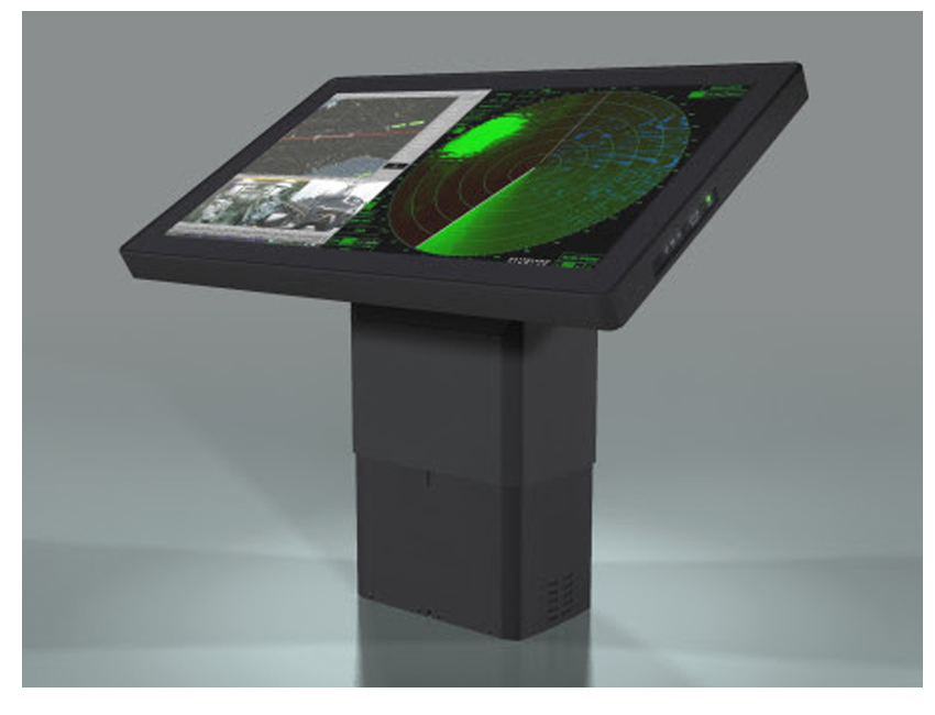 Tactical Display for Naval Vessels with a Big Touch Screen