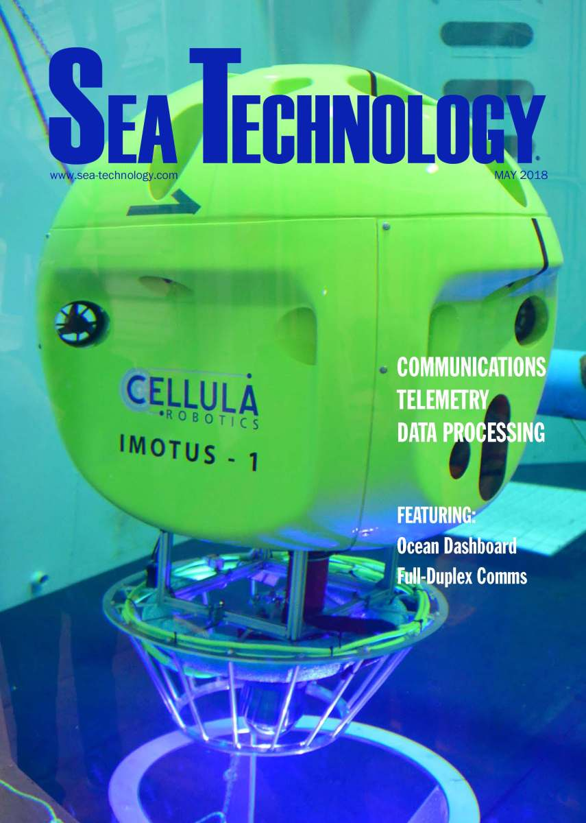 Sea Technology, Vol. 59, No. 5—May 2018