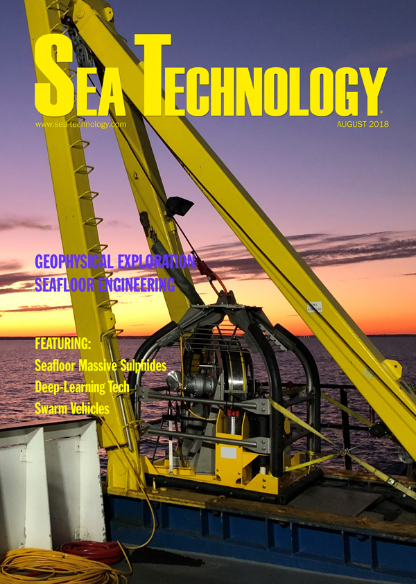Sea Technology, Vol. 59, No. 8—August 2018