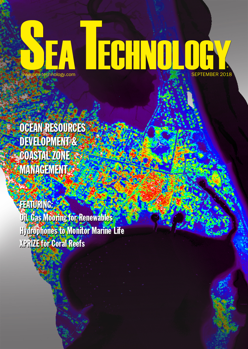 Sea Technology, Vol. 59, No. 9—September 2018