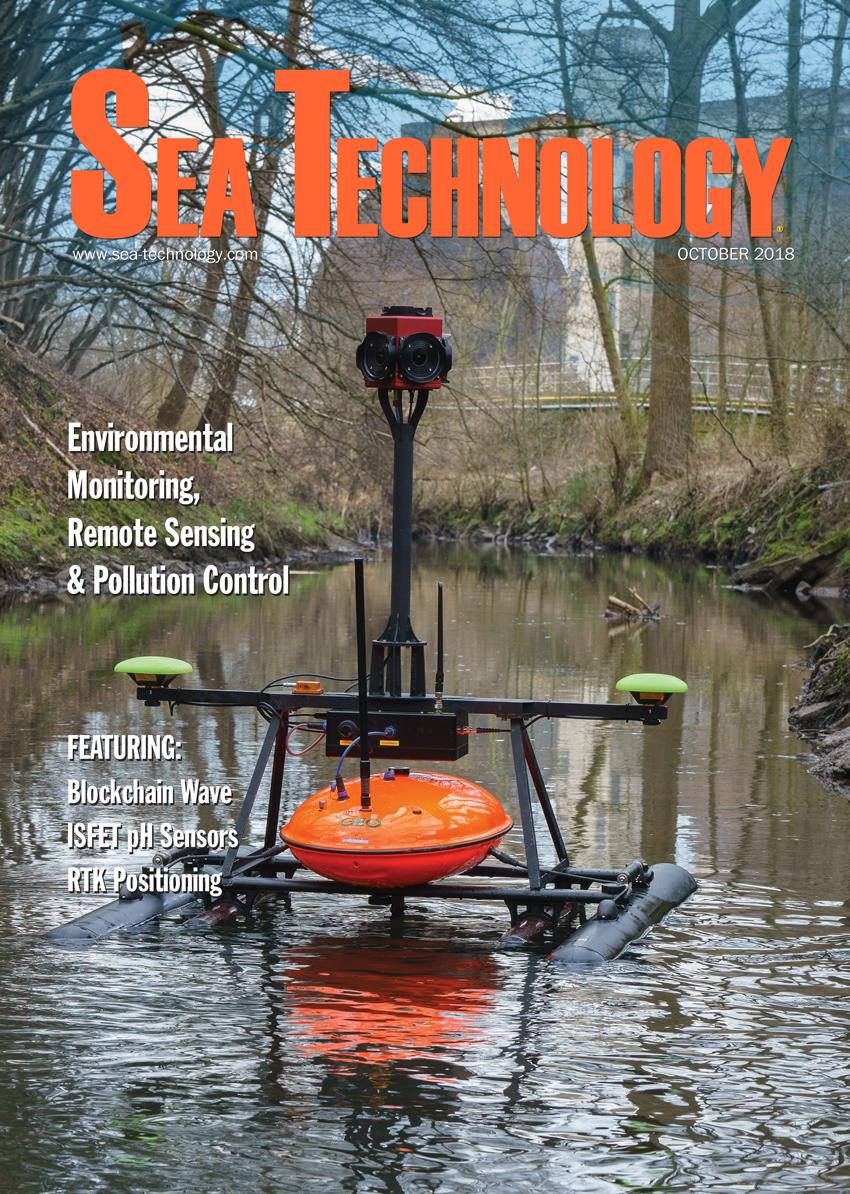 Sea Technology, Vol. 59, No. 10—October 2018