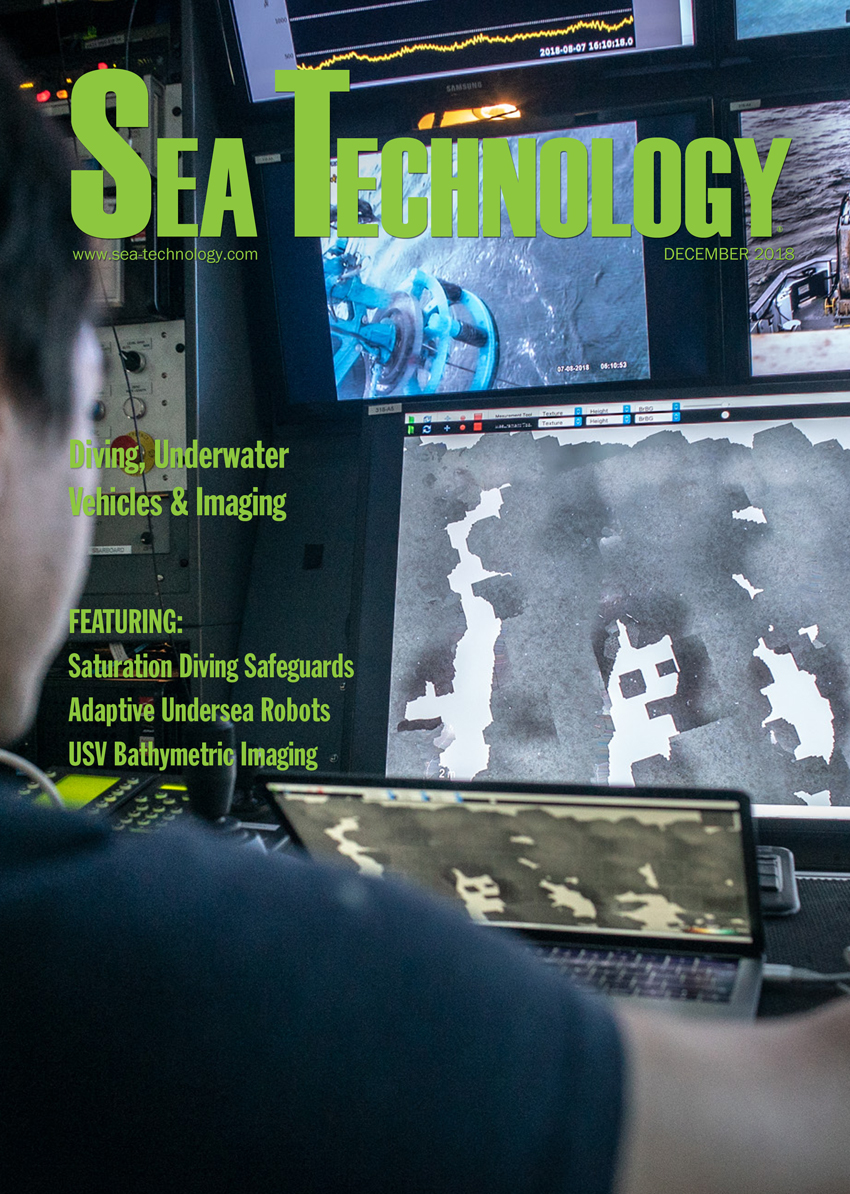 Sea Technology, Vol. 59, No. 12—December 2018