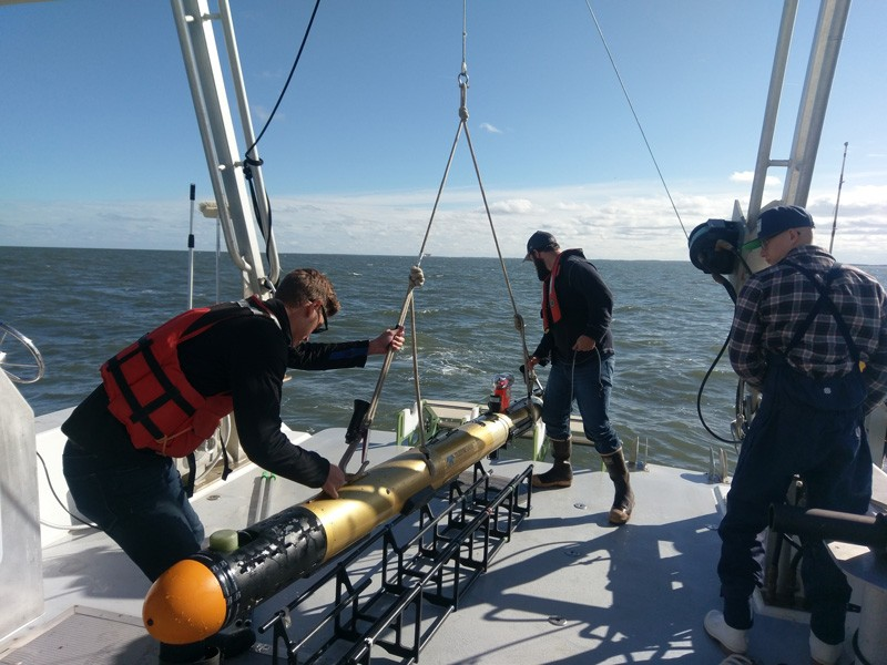 Study Examines how Dumped Munitions Move Underwater