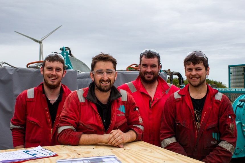 Motive Offshore technicians