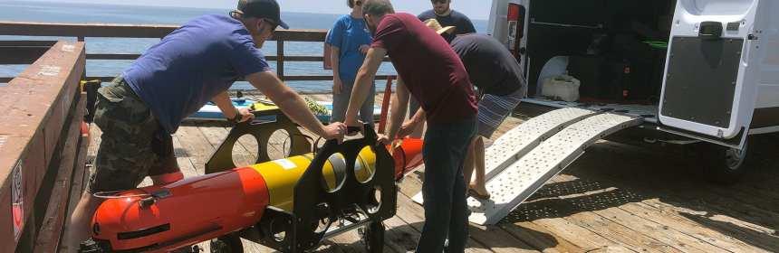 LRAUV oil detection