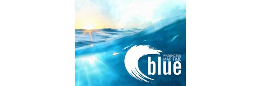 Washington Maritime Blue logo