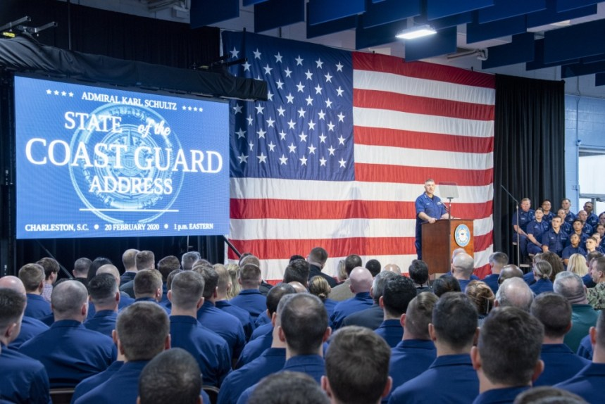 State of the US Coast Guard address 2020