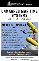 Unmanned Maritime Systems Banner