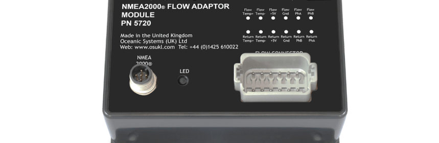 Oceanic Systems UK Ltd 5720 NMEA2000 flow adaptor module