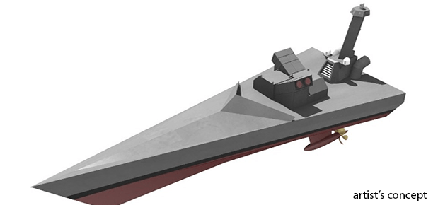 Unmanned vessel NOMARS by DARPA