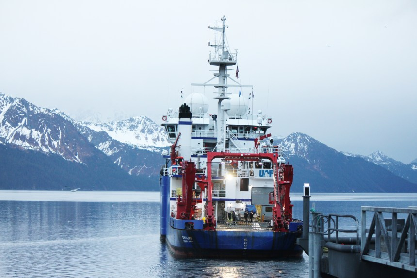 Sikuliaq in Seward May 2020_by Sarah Spanos