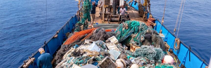 marine plastic recovery vessel SV Kwai