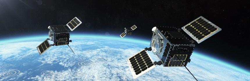 HawkEye 360 cluster 2 satellites