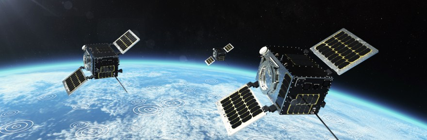 HawkEye 360 cluster 2 satellites