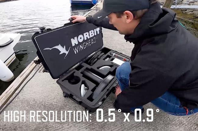 Norbit Winghead Echosounder