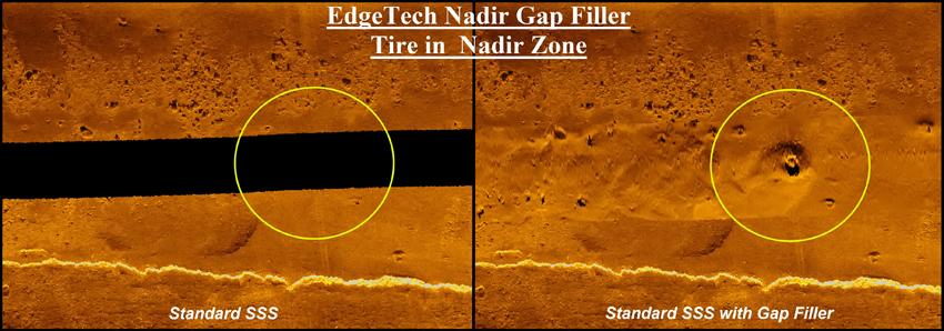 nadir gap coverage on the EdgeTech 2205 sonar platforms