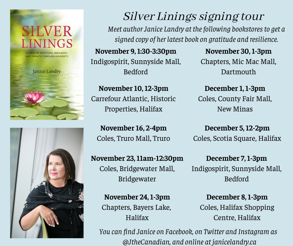 JANICE LANDRY tours with SILVER LININGS