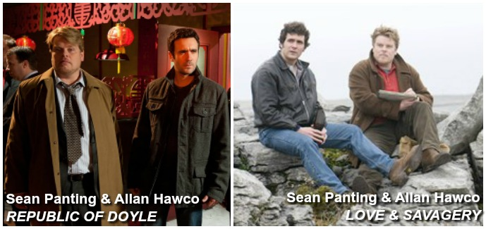 Sean Panting and Allan Hawco REPUBLIC OF DOYLE and LOVE& SAVAGERY