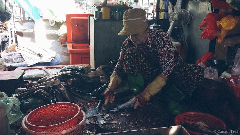 poisson marché russe phnom penh
