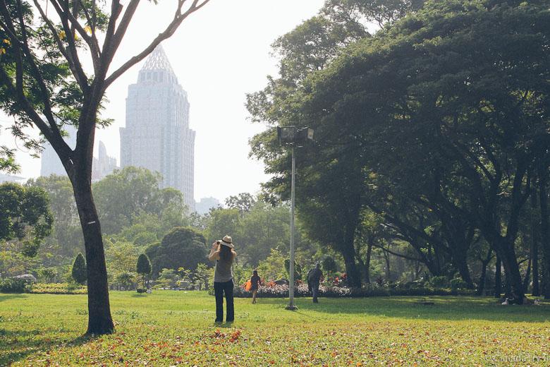 lumpini park bangkok