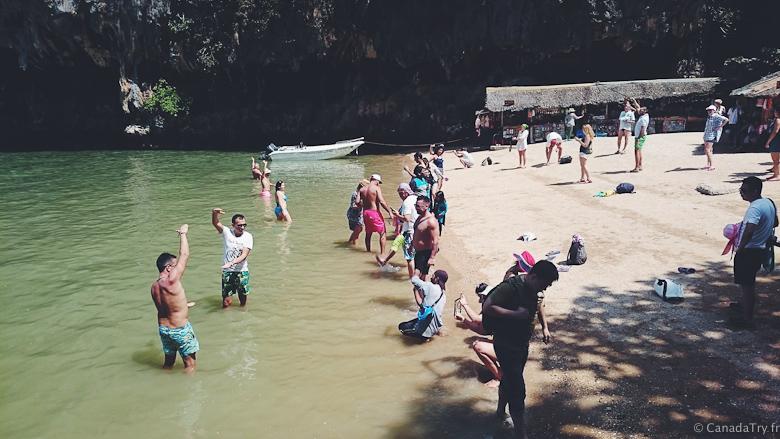 touristes james bond island