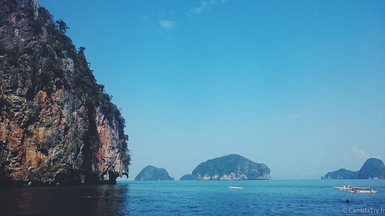 roche baie de phang nga