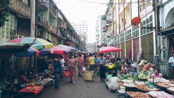 marché de yangon