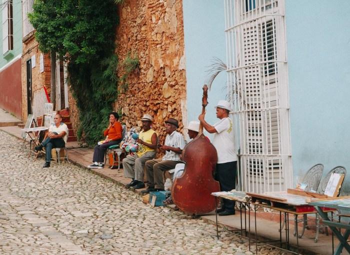 groupe de musique à trinidad cuba
