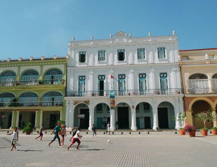architecture plaza vieja cuba