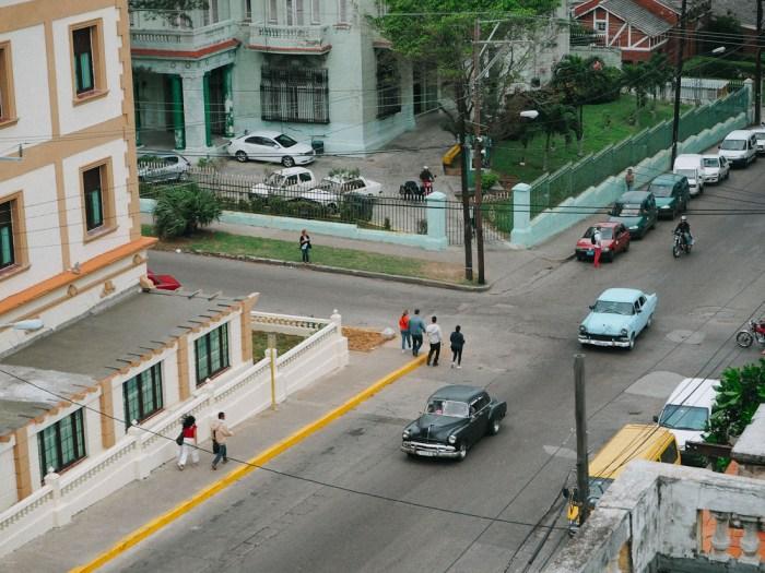vue d'en haut café laurent vedado cuba