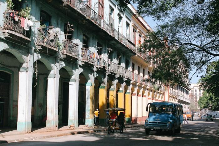 architecture à cuba centro habana