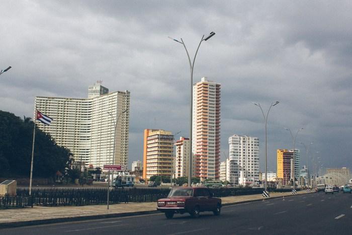 architecture buildings vedado à la havane