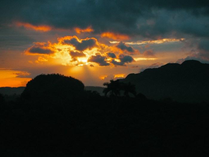 coucher de soleil paysage vinakes