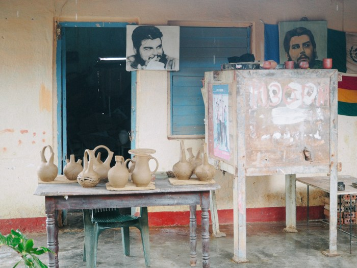 atelier de poterie che guevara cuba