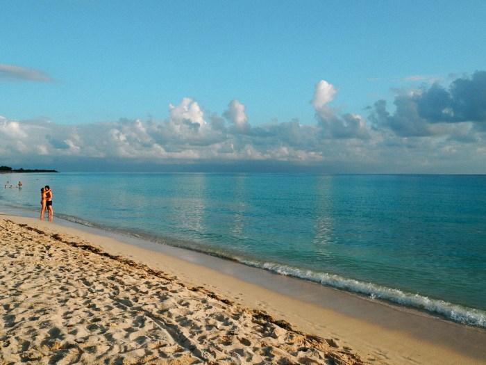 playa ancon couleur de l'eau trinidad
