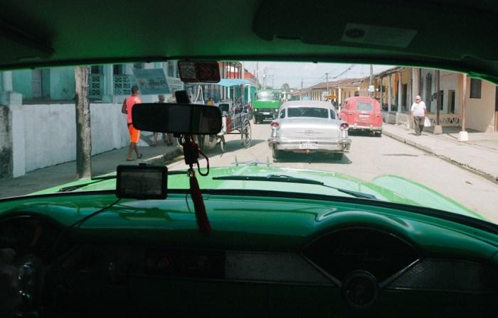taxi chevrolet à cuba