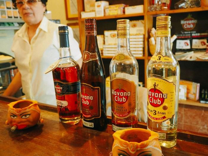 bouteilles havana club casa del habano