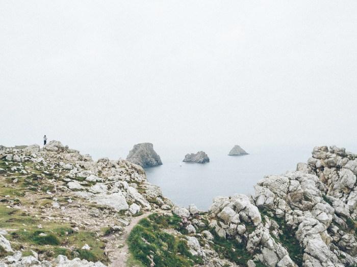 Tas de pois de la pointe de Pen Hir, Finistère