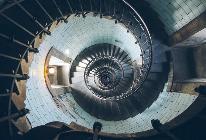 phare d'eckmühl vu d'en haut