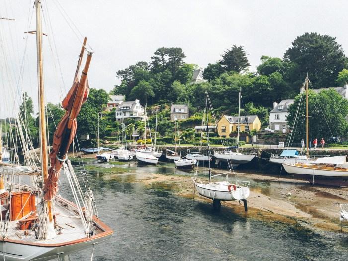 bateaux à Pont aven