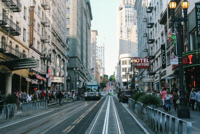 rue commerçante san francisco