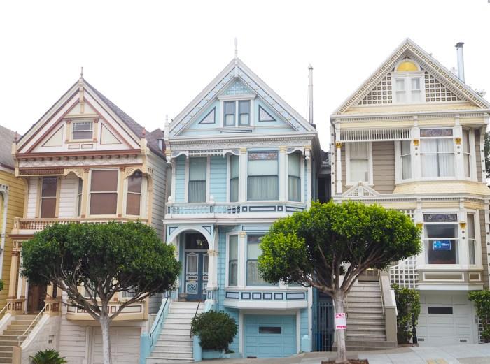 maisons colorées san francisco